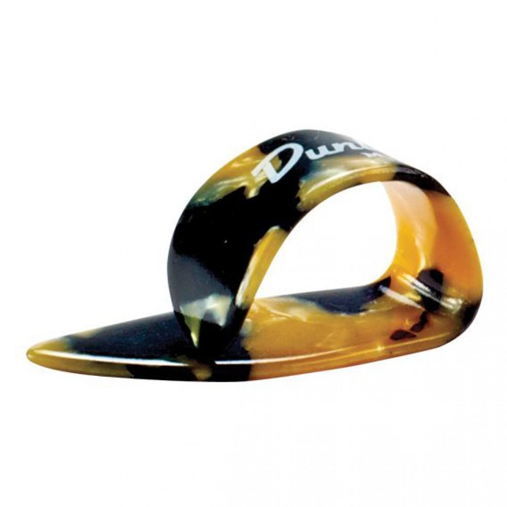 """Медиаторы когти на большой палец """"Dunlop"""" 9216R (большие), пластик, Heavies Calico"""
