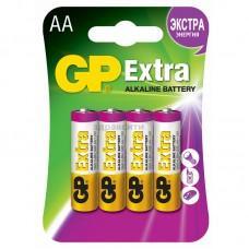 "GP ""GP15AXNEW-2CR4"", AA батарейки пальчиковые, алкалиновые"