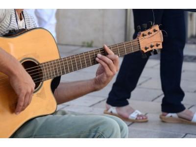 Гитара. Как правильно зажимать баррэ.