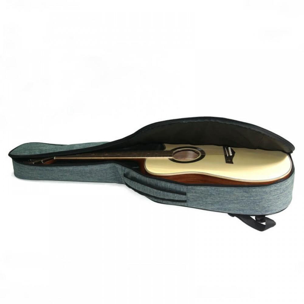 """Чехол """"Armadil"""" C-801 (Jeans Green) для гитары классической (цвет  зеленый джинс)"""
