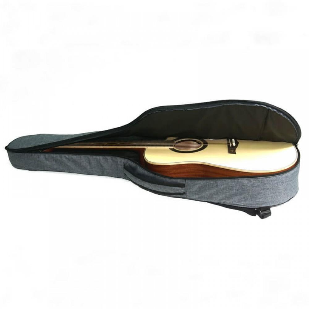 """Чехол """"Armadil"""" C-801 (Jeans Grey) для гитары классической (цвет  серый джинс)"""