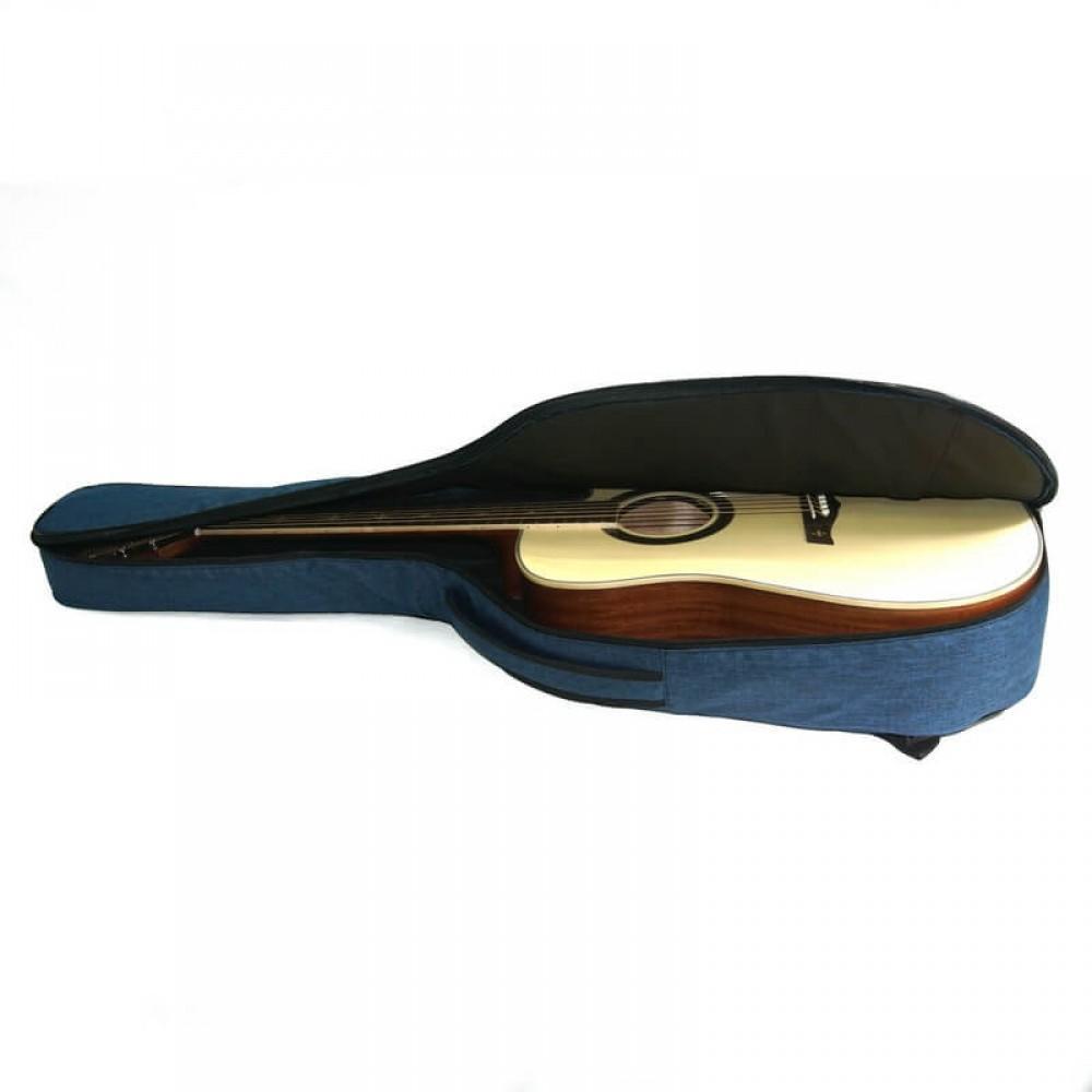 """Чехол """"Armadil"""" A-801 (Jeans Blue) для гитары акустической (цвет  синий джинс)"""