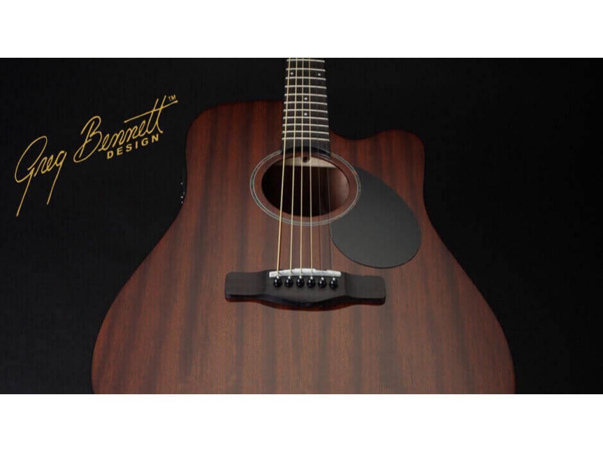 В наши магазины поступили гитары Greg Bennett!