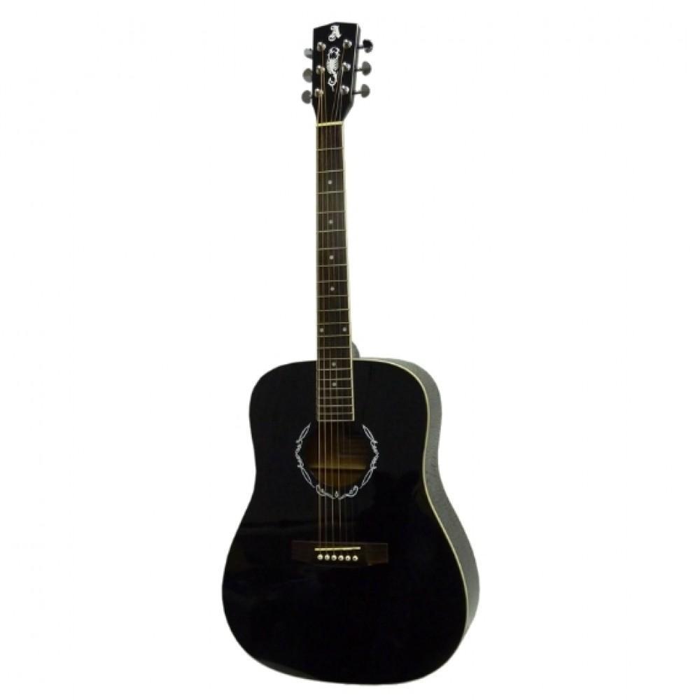 Электро-акустическая гитара Alicante LIBERTY EA (BK), вестерн, 3-пол. эквалайзер, тюнер