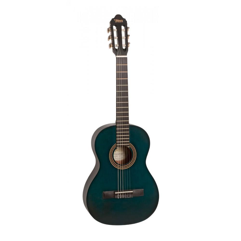 Гитара классическая Valencia VC-201 (TBU), 1/4, матовая