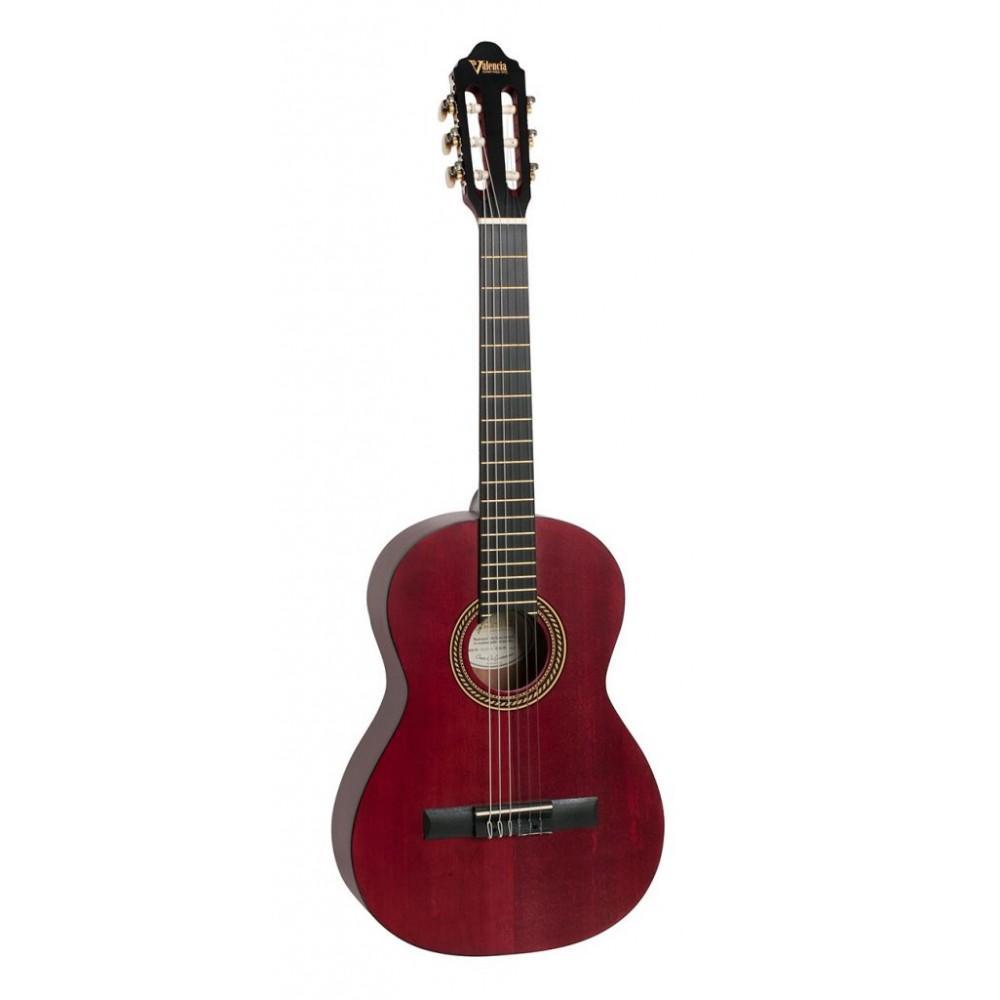 Гитара классическая Valencia VC-202 (TWR), 2/4, матовая