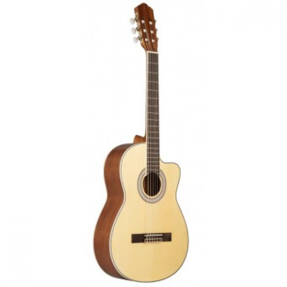 Laviere CC-20 (NT), гитара классическая, матовая, с вырезом