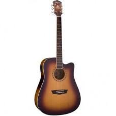 Электроакустическая гитара Washburn WD7SCEATBM