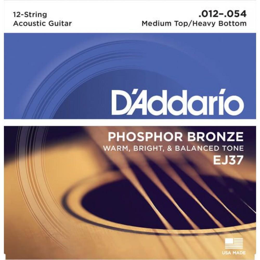 D'Addario EJ37 12-54 12 string