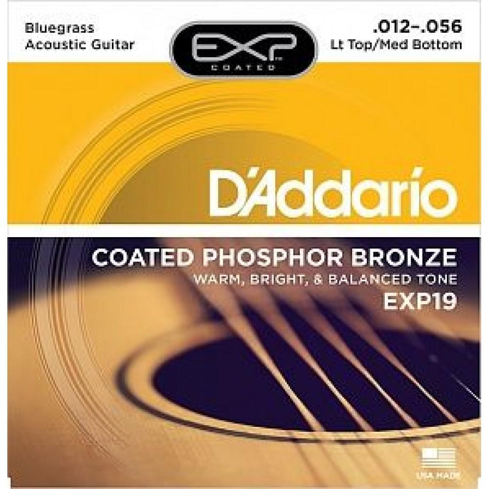 D'Addario EXP-19, coated phosphor bronze 12-56