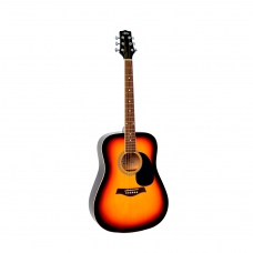 Гитара акустическая Aris DL-41 (SB), вестерн
