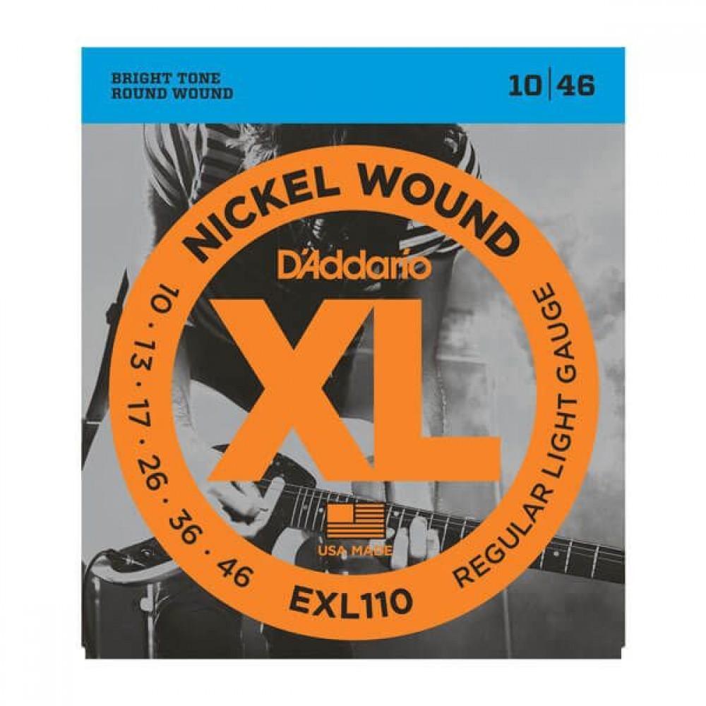 D'Addario XL Nickel 10-46 Regular EXL-110