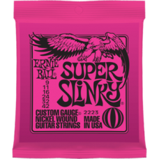 Струны для электрогитары Ernie Ball 2223 9-42 Super Slinky
