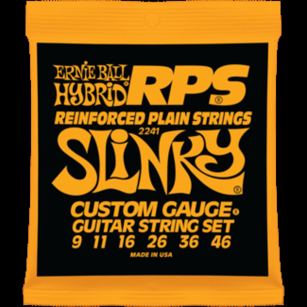 Струны для электрогитары Ernie Ball 2241 9-46 RPS Hybrid Slinky