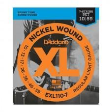 D'Addario XL Nickel 10-59 Regular EXL110-7