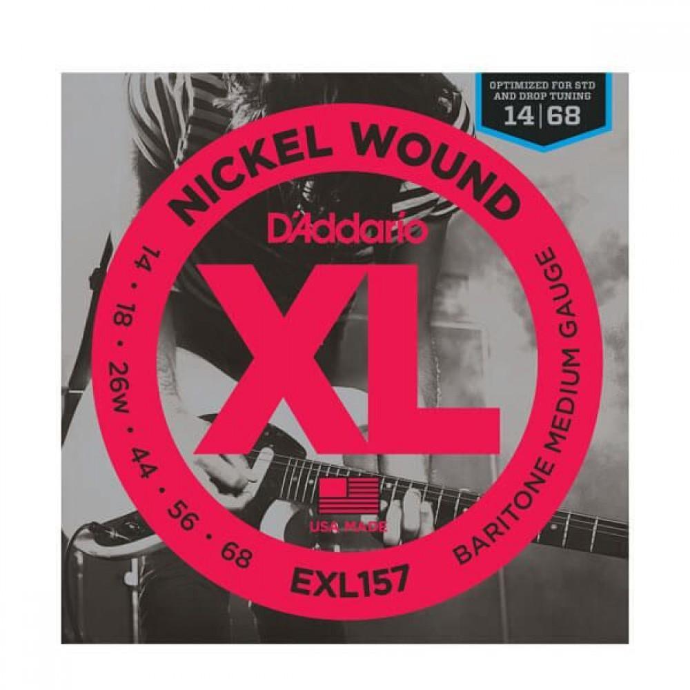 D'Addario XL Nickel 14-68 Baritone Medium EXL157