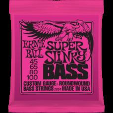 Струны для бас гитары Ernie Ball 2834 45-100 Super Slinky