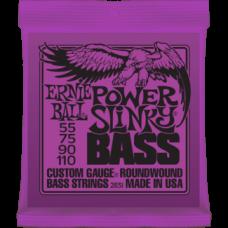 Струны для бас гитары Ernie Ball 2831 55-110 Power Slinky