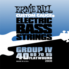 Ernie Ball 2808 40-95 Flatwound Bass Group IV