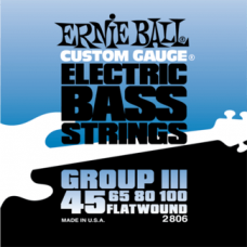 Ernie Ball 2806 45-100 Flatwound Bass Group III