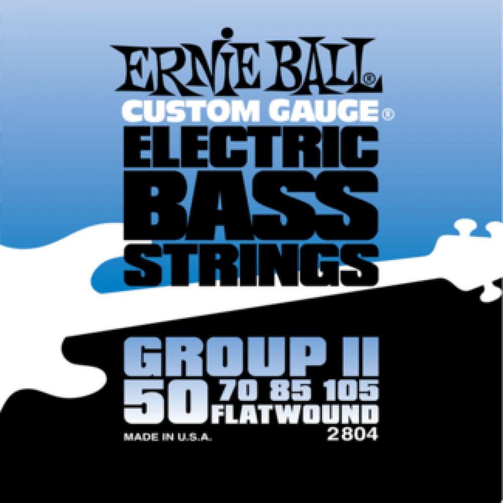 Ernie Ball 2804 50-105 Flatwound Bass Group II
