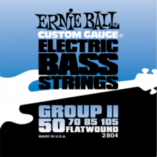 Ernie Ball 2804 50-105 Flatwound Bass Group II