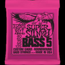 Струны для бас гитары Ernie Ball 2824 40-125 Super Slinky 5-String