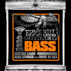 Струны для бас гитары Ernie Ball 3833 45-105 Coated Hybrid Slinky