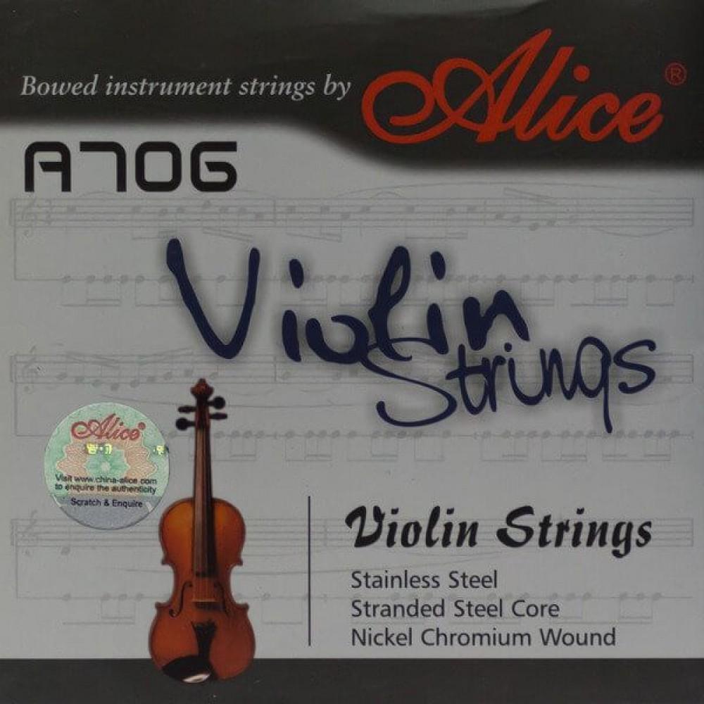 Струны для скрипки Alice A706