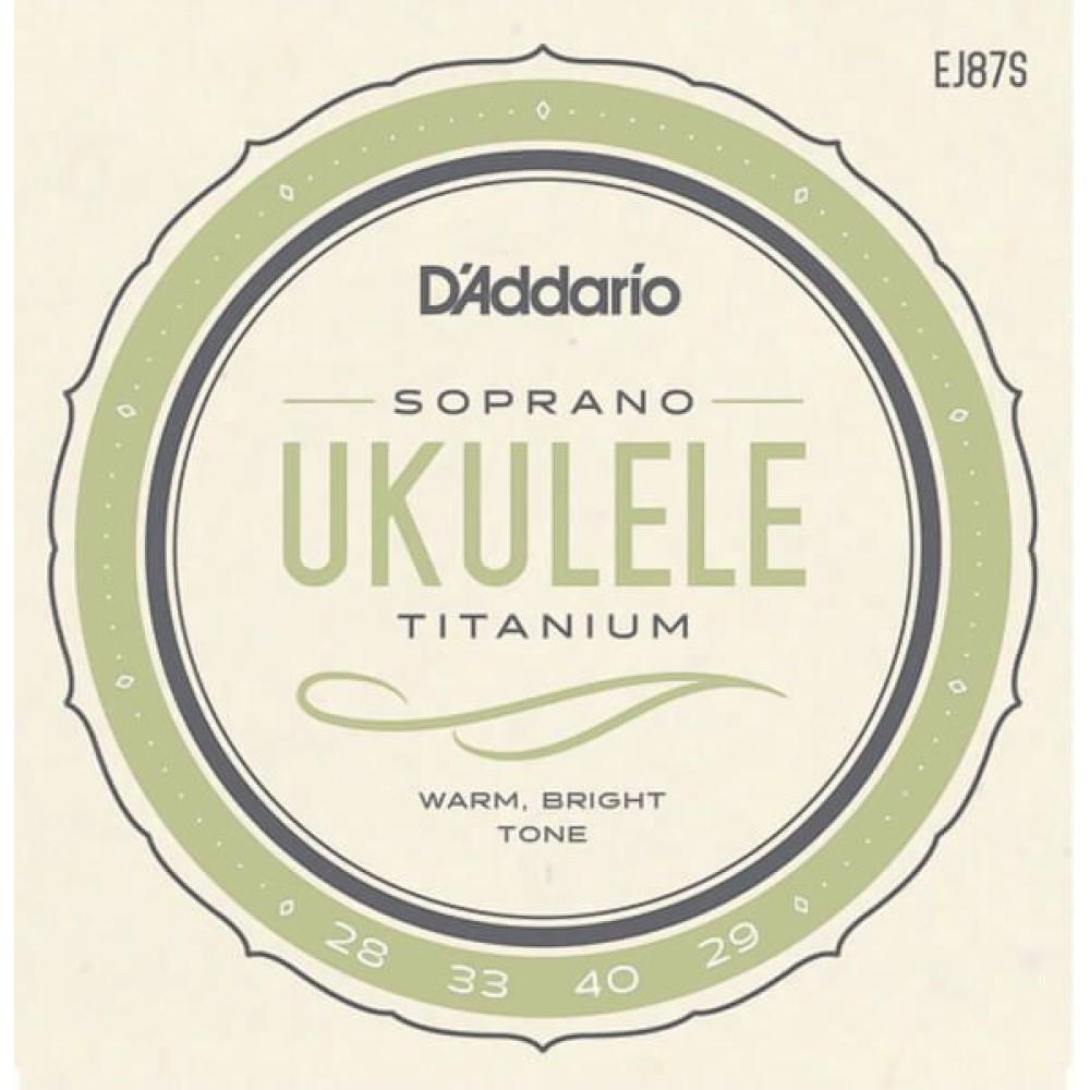 D'Addario Titanium EJ87S