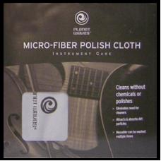 Полировочная салфетка из микрофибры Planet Waves PW-MPC