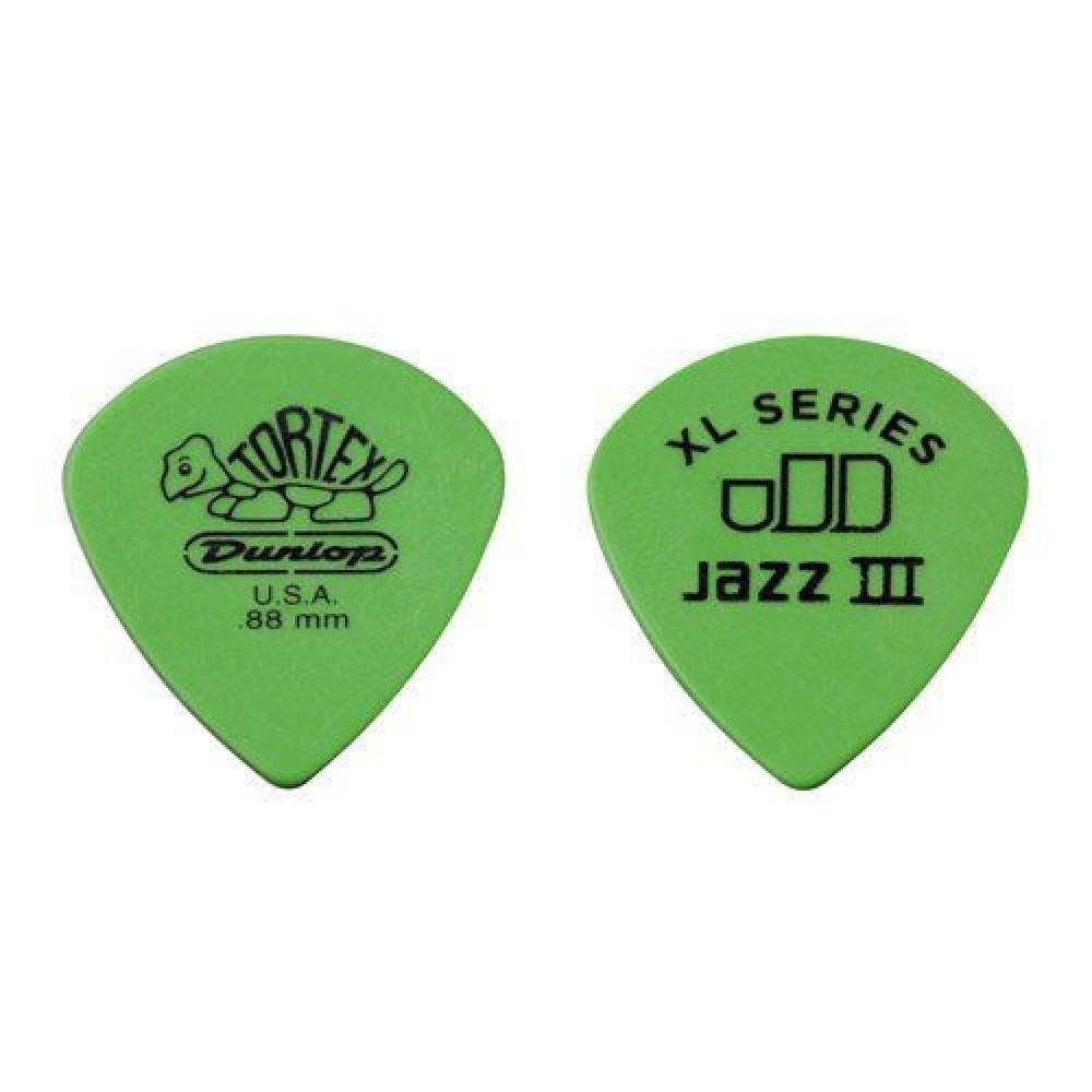 "Медиаторы ""Dunlop"" Tortex Jazz III XL (0,88)"