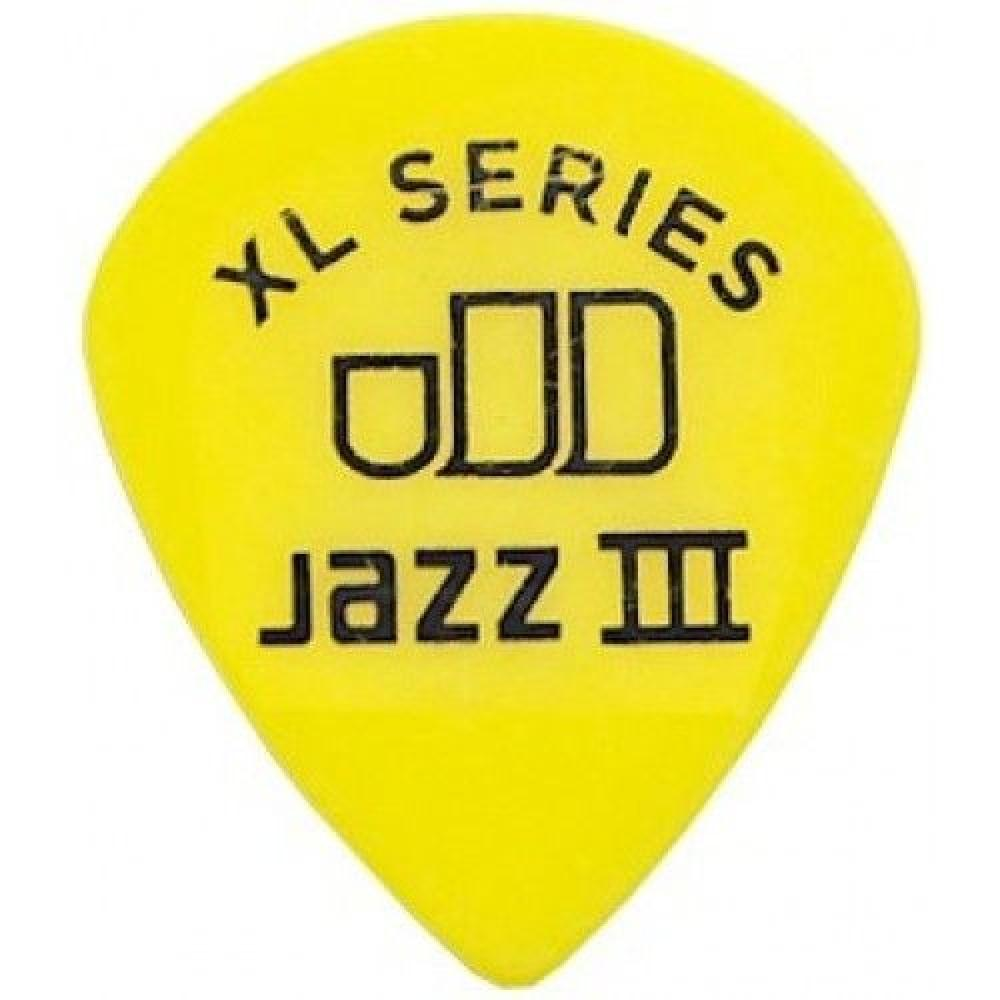 "Медиаторы ""Dunlop"" Tortex Jazz III XL (0,73)"