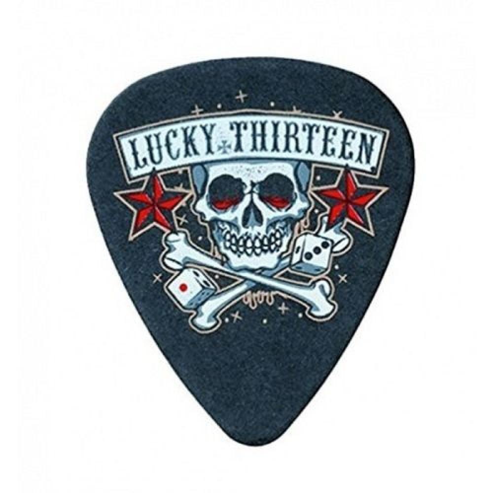 """Медиаторы """"Dunlop"""" Lucky 13 Skull Dice (1,0)"""