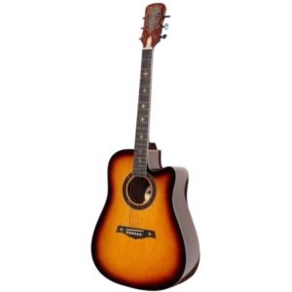 Гитара акустическая Crusader CF-6001 (SB)