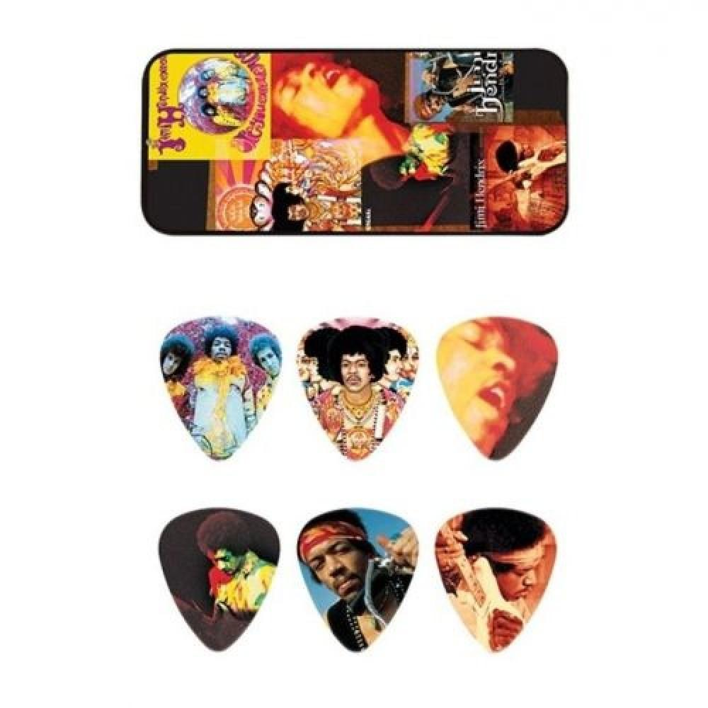 "Медиаторы ""Dunlop"" JH-PT08H Jimi Hendrix Montag (12шт)"