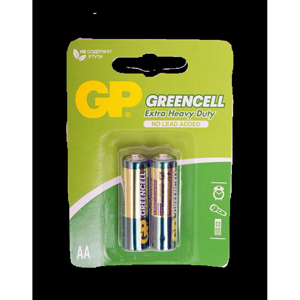 Батарейки пальчиковые GP GP15G-2CR2 AA