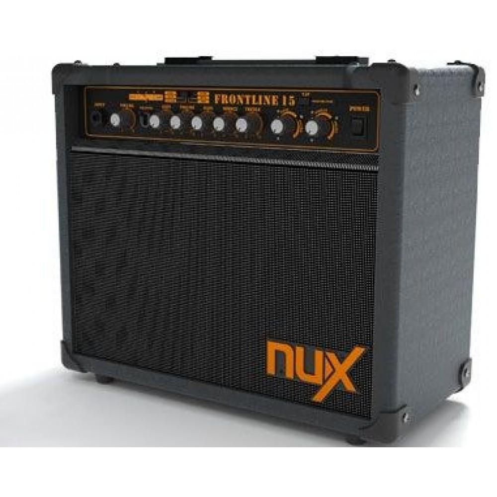 Комбо гитарный Nux ''Frontline-15'' 15W