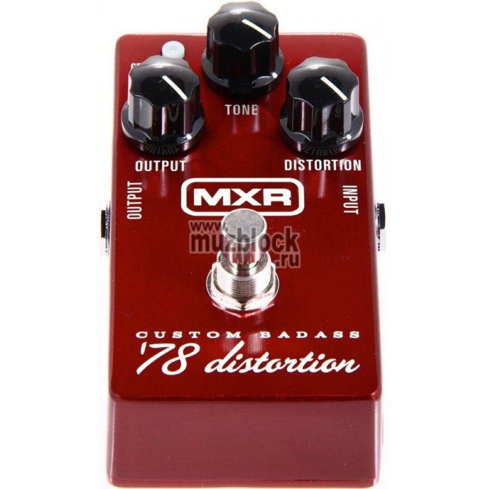 Dunlop MXR Custom Badass '78 Distortion M78
