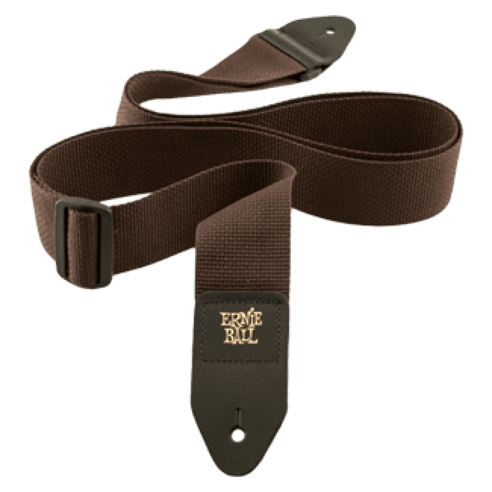 Ernie Ball Brown Polypro Strap 4052