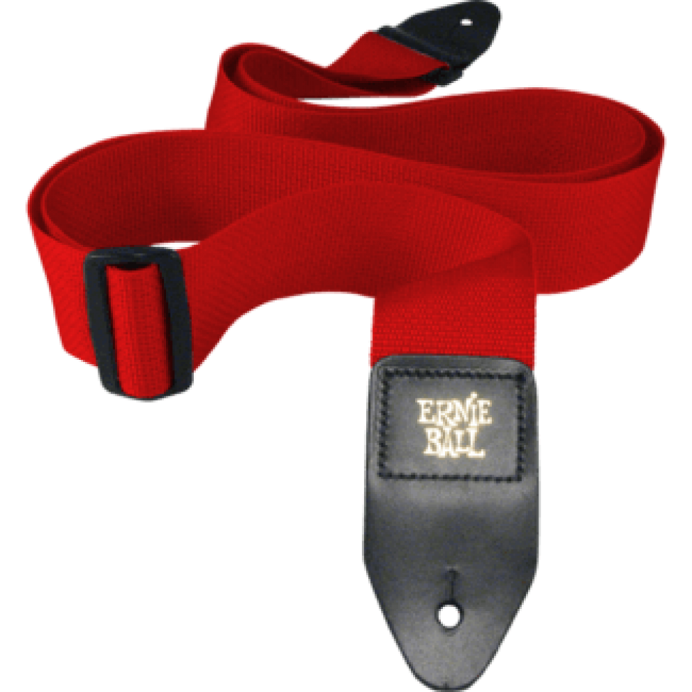Ernie Ball Red Polypro Strap 4040
