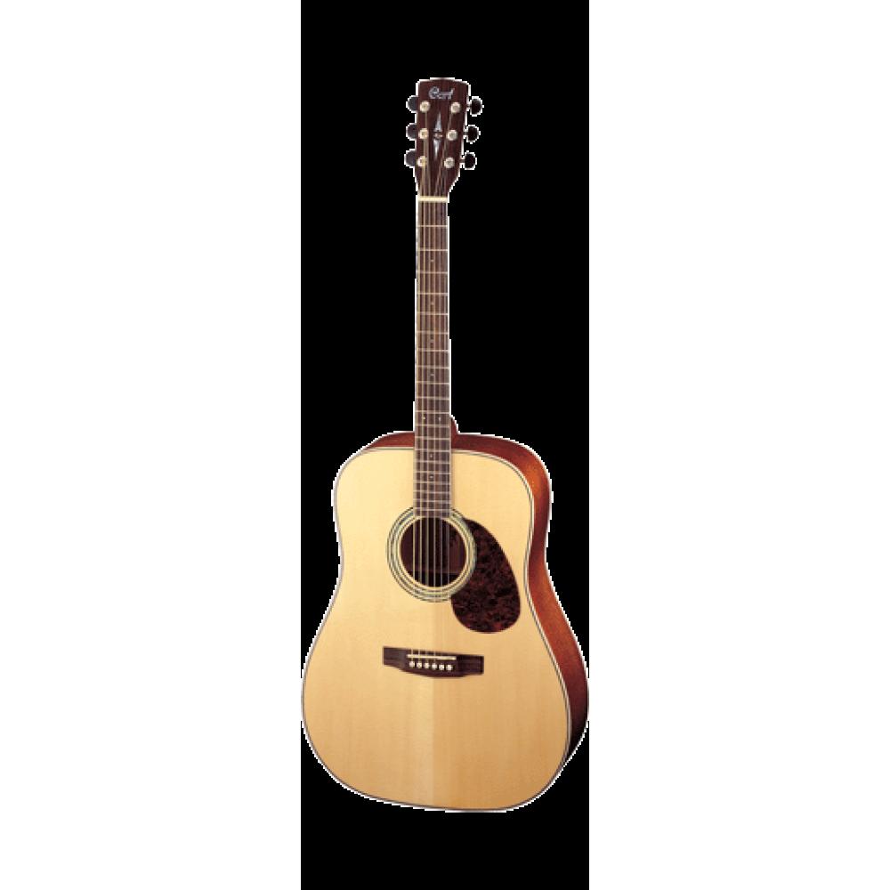 Гитара акустическая Cort EARTH-100 (NS), вестерн, матовая, массив