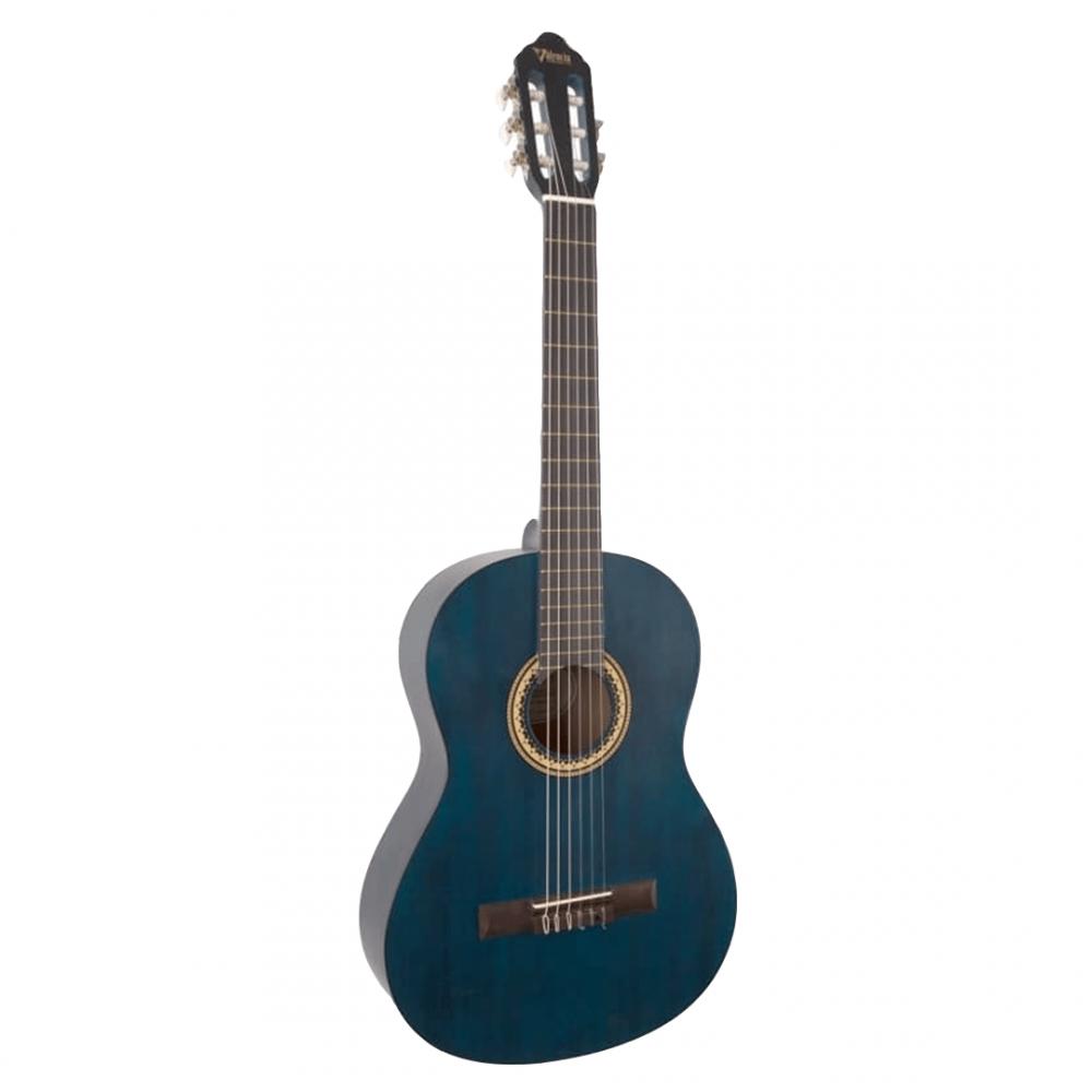 Гитара классическая с узким грифом Valencia VC-204H (BL)