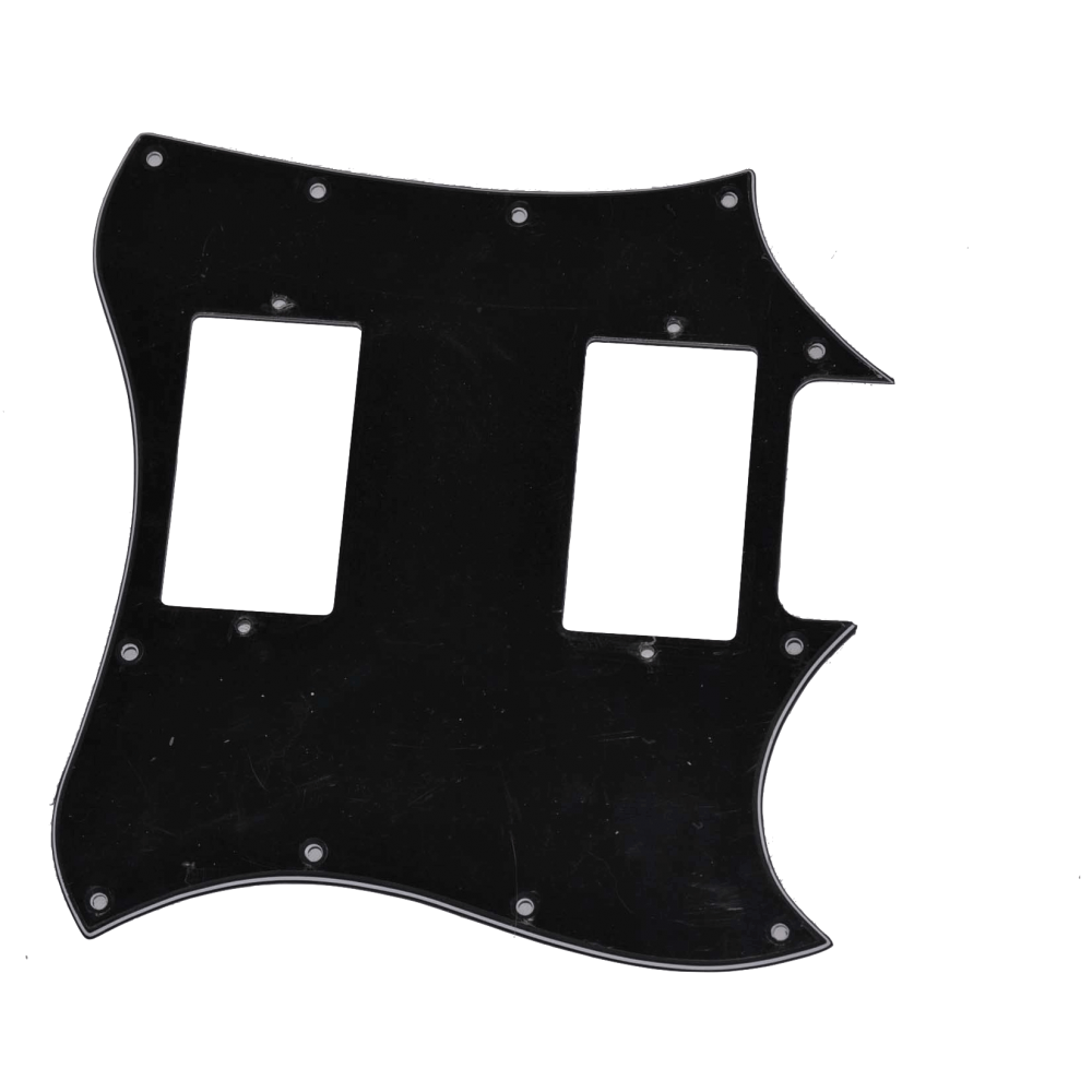 Guitarparts M7 Панель HH черная