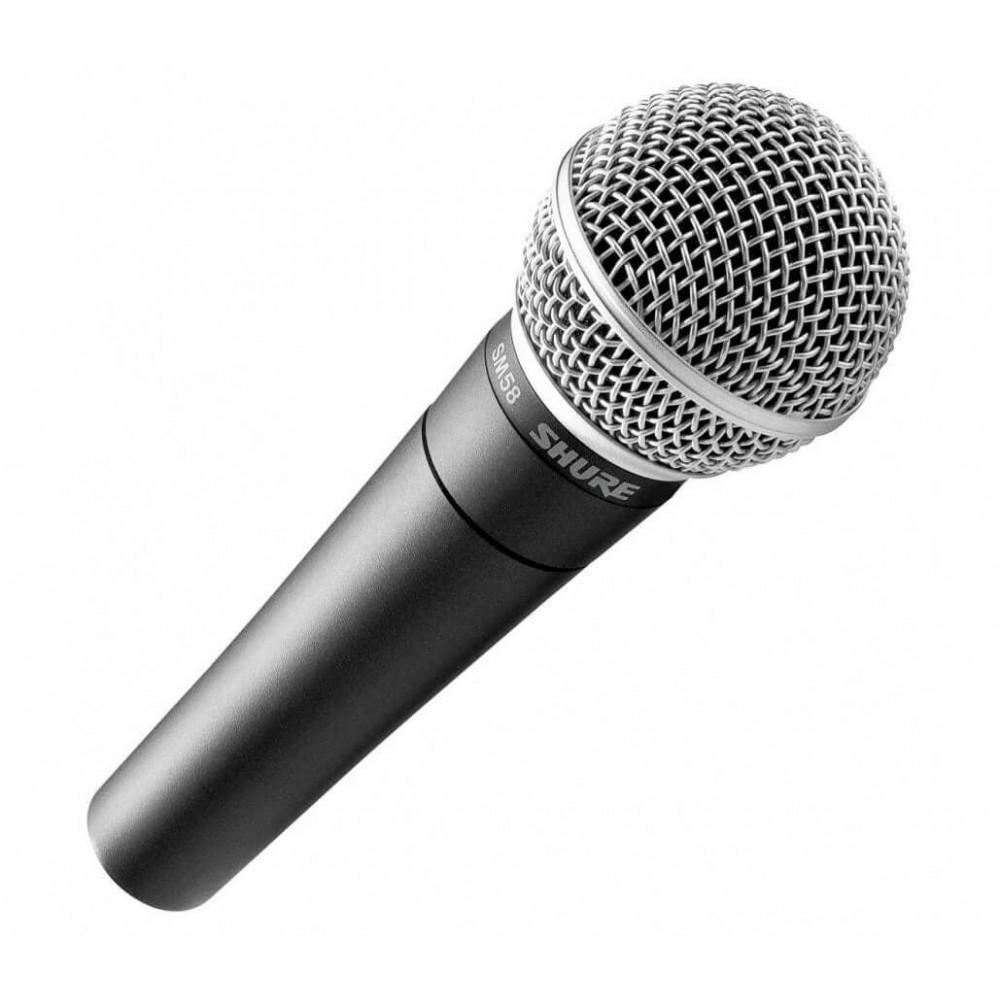 Динамический микрофон Shure SM58-LCE