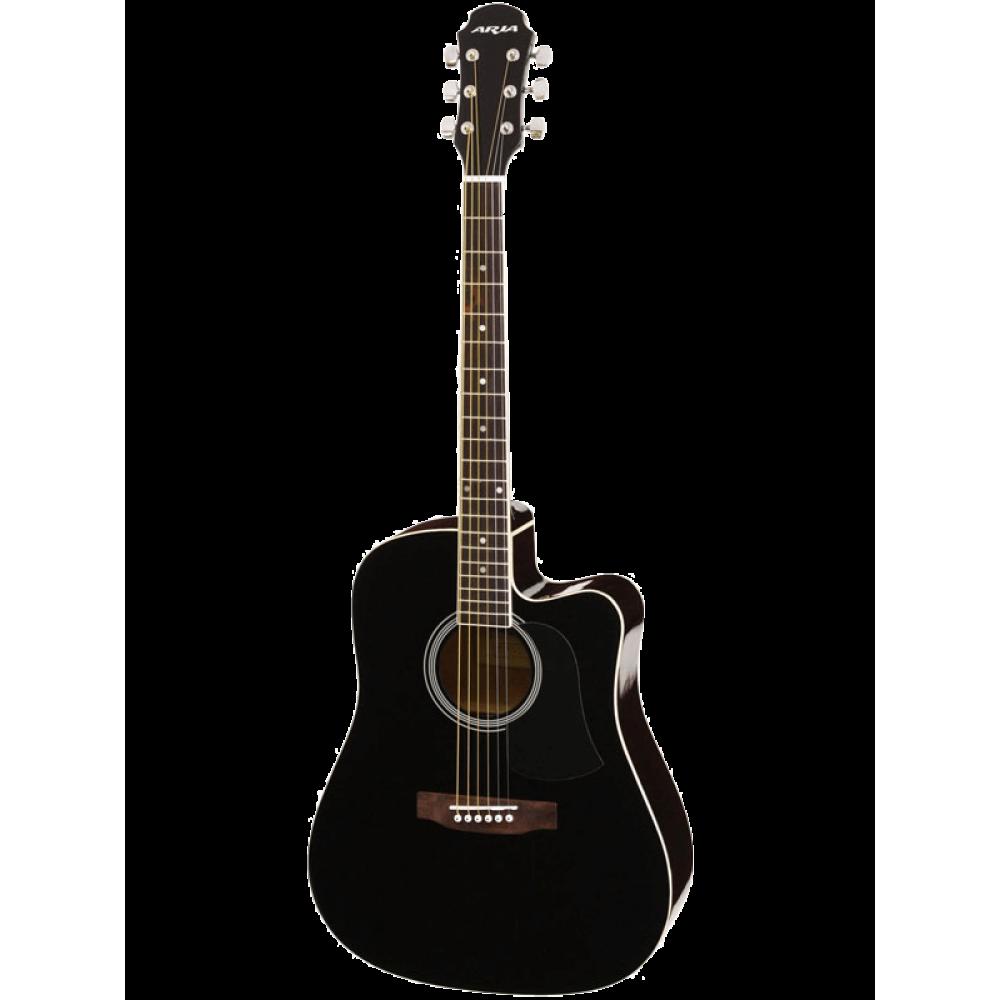 Гитара электроакустическая Aria AWN-15CE, 2-пол. эквалайзер