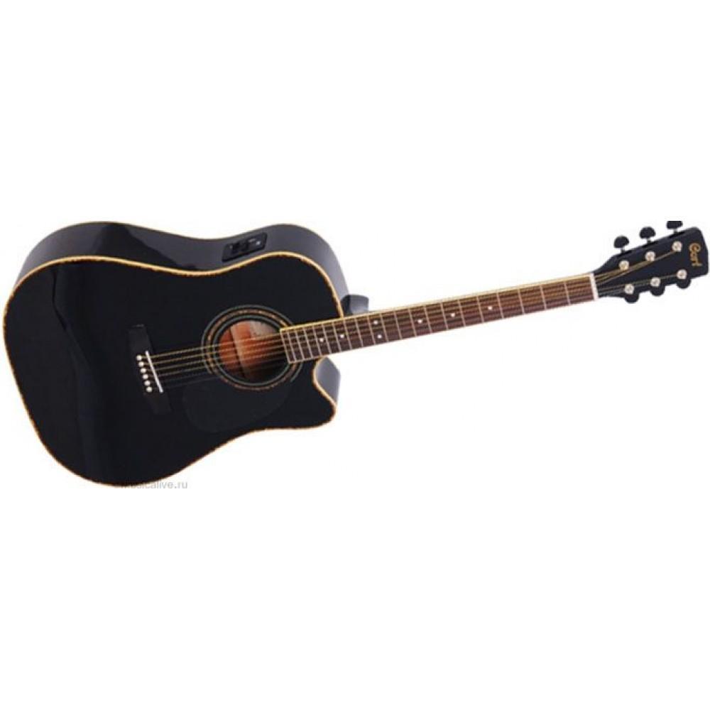 Гитара электроакустическая Cort AD-880CE (BK)