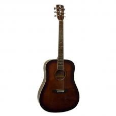 Электроакустическая гитара Alicante ROCK-CAFE EA (BR)
