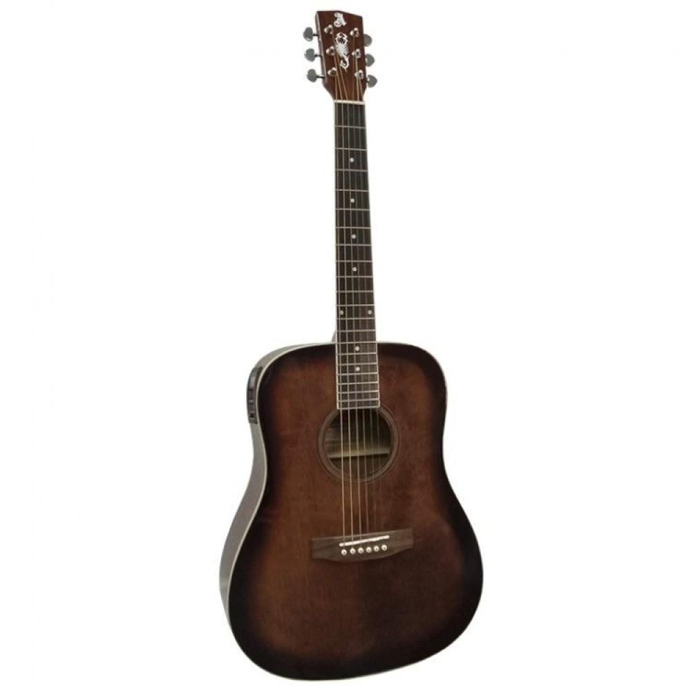 Гитара электроакустическая Alicante TITANIUM EA (BR)