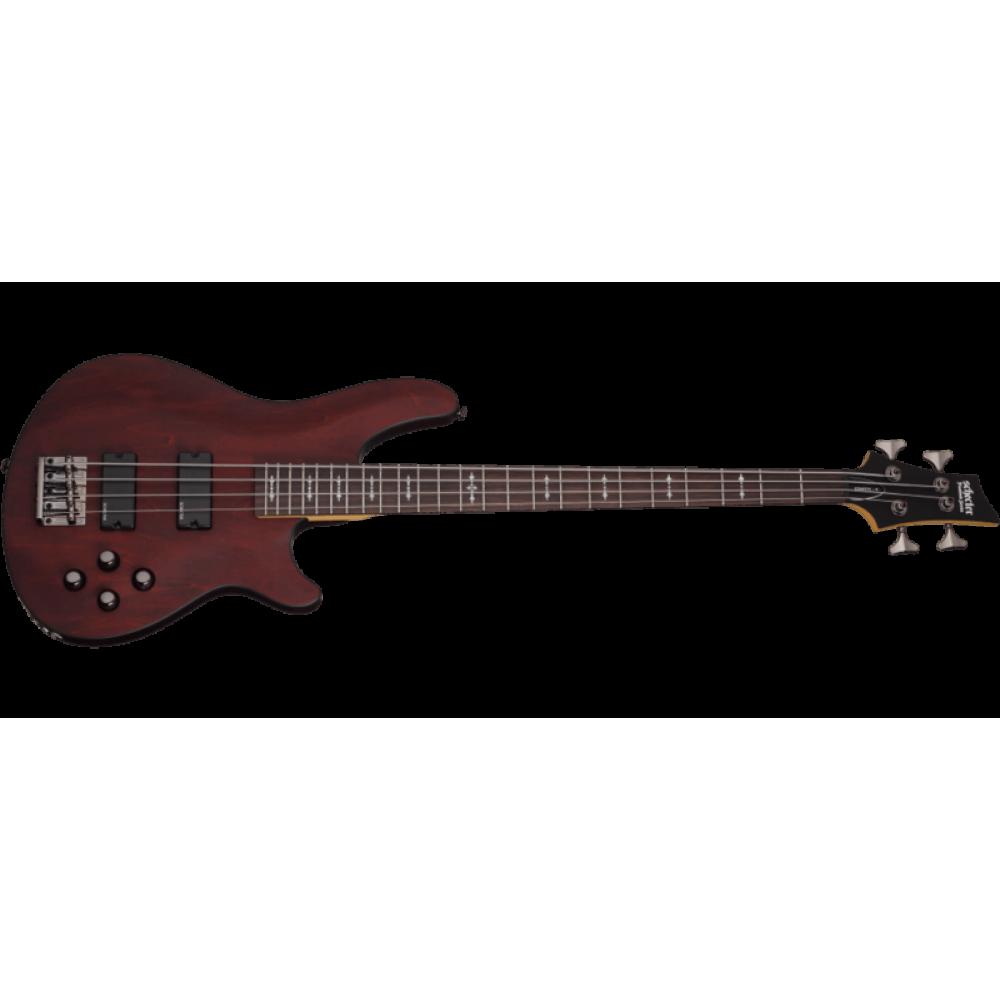Бас-гитара Schecter Omen-4 (WSN) ореховая матовая